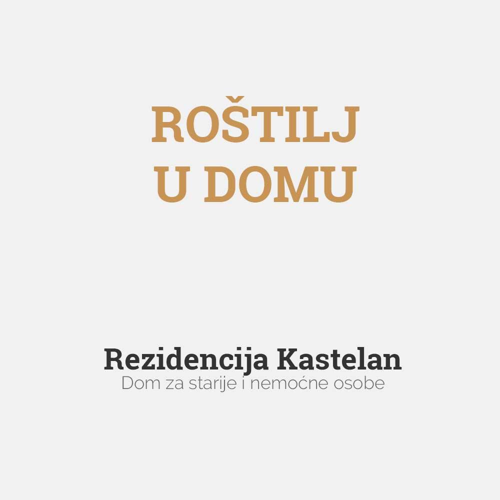 Rezidencija Kastelan, roštilj u domu